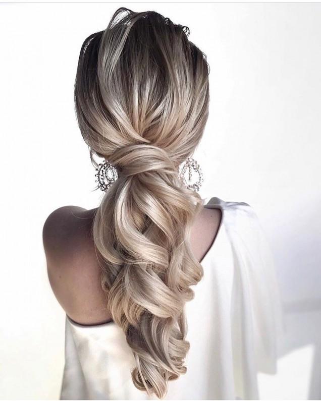 опашка дълга коса