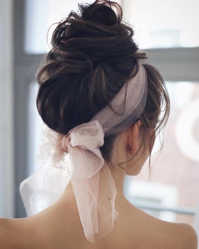 красива прическа дълга коса