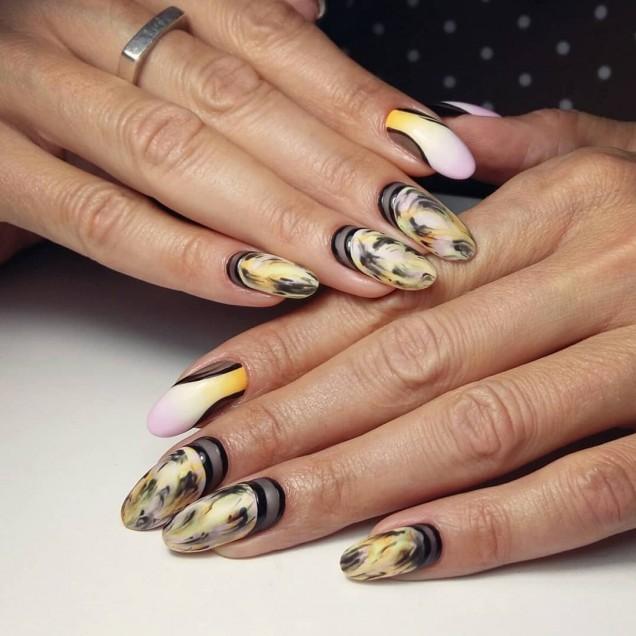 Елегантен дизайн за дълги нокти маникюр за 2020