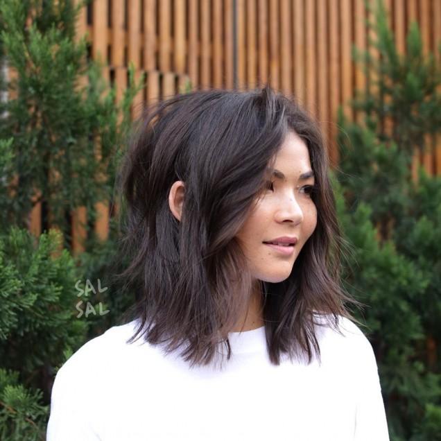 филирана коса