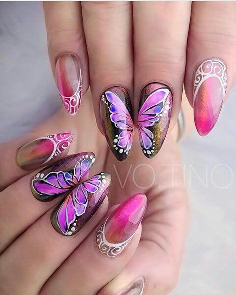 Лак с пеперуди
