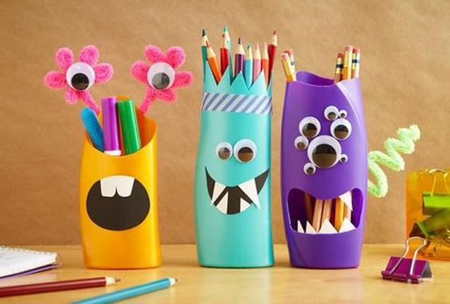 моливник от пластмасови бутилки