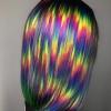коса разноцветни кичури