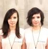 преди и след прическа