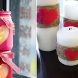 романтична свещ
