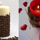 свещ с кафе