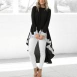 асиметрична блуза тип фрак