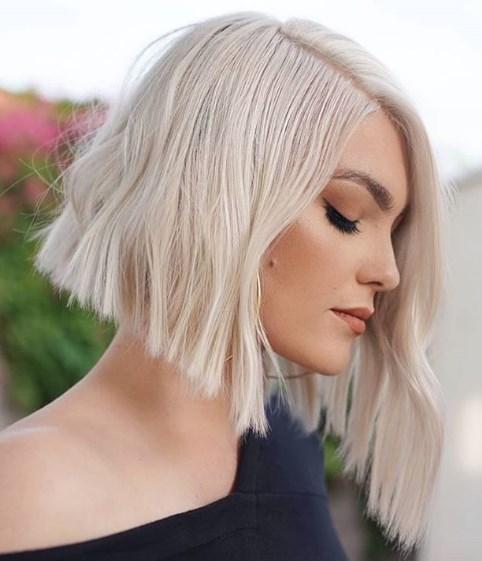 каре на права коса