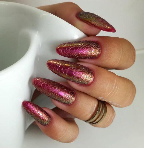 пенест маникюр дълги нокти