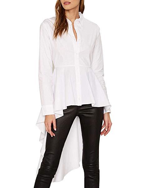 свободна дълга блуза