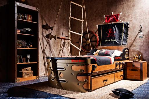 детска стая пират
