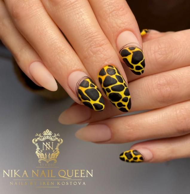 леопард нокти