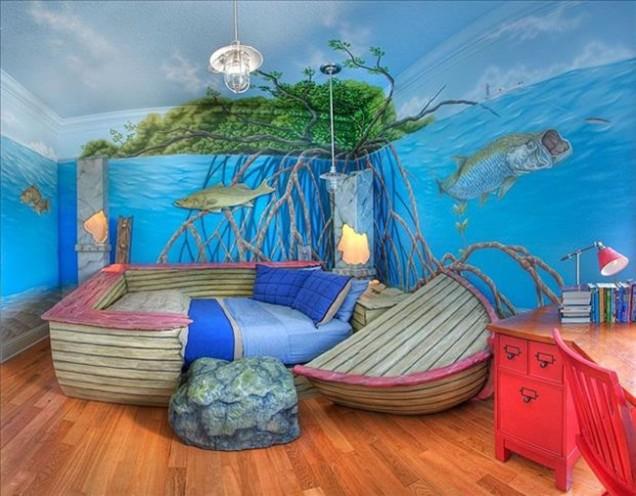 детска стая морска