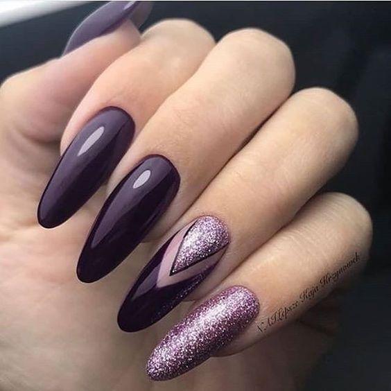 елегантен маникюр дълги нокти