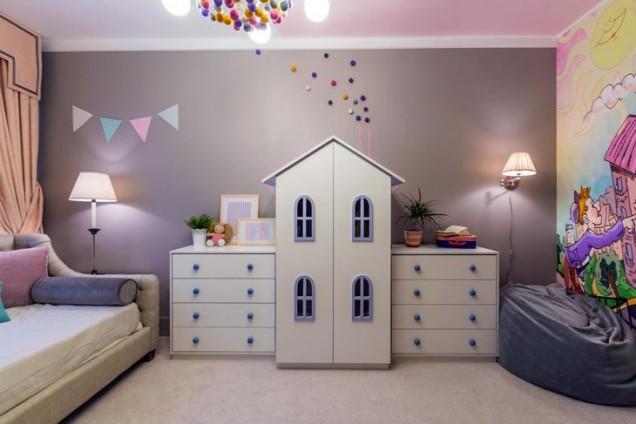 детска стая приказен град