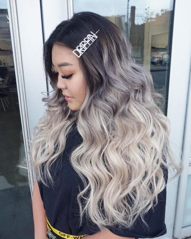 омбре дълга коса