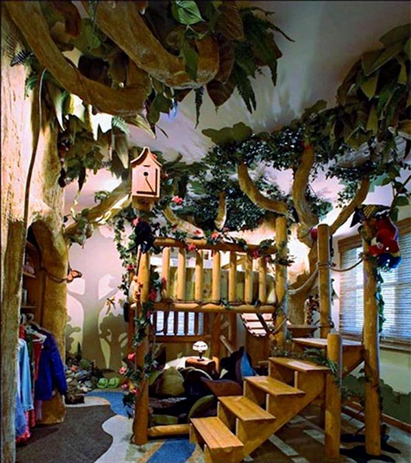 детска стая джунгла