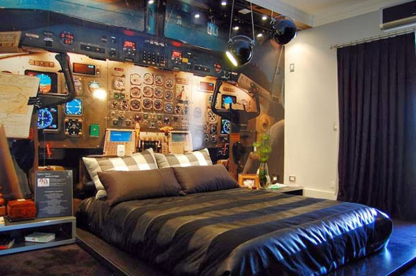 спалня космически кораб