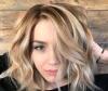коса светли кичури