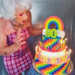 90 годишна баба как изглежда