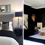 спалня в черно