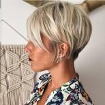 ефектна къса фризура