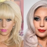 лейди Гага прическа