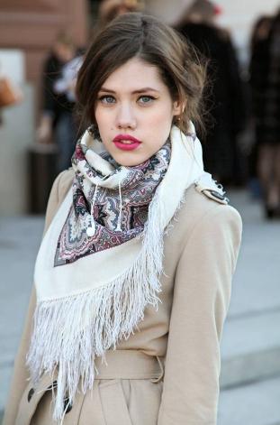 идея за връзване на шал