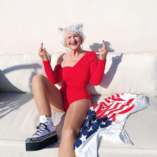 баба на 90 години