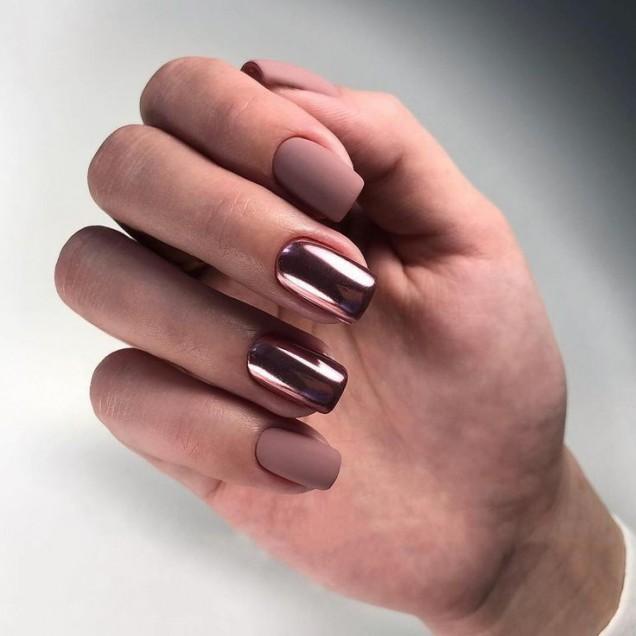 тенденции идея за къси нокти с гел лак
