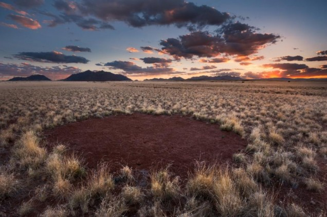 Кръговете на феите Намибия