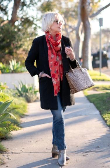 комбинация палто и шал