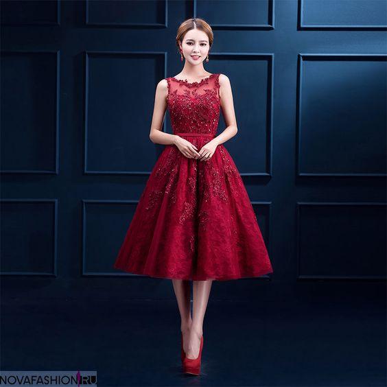 червена рокля принцеси