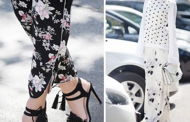 широки флорални панталони
