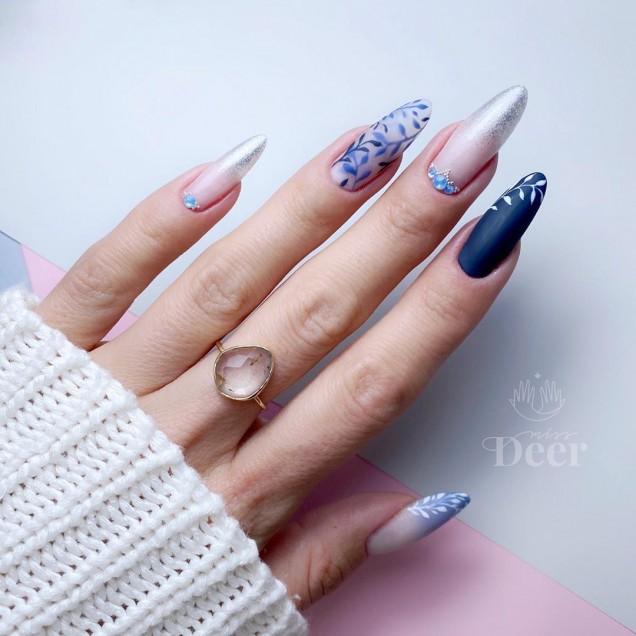 красив маникюр дълги нокти