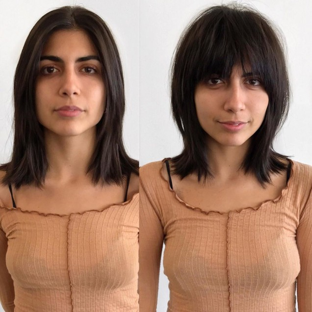 средна дължина с бретон