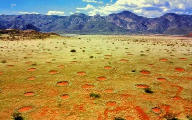 Намибия кръгове