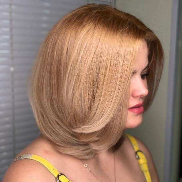 коса средна дължина