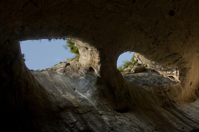 Очите на Бога пещера Проходна