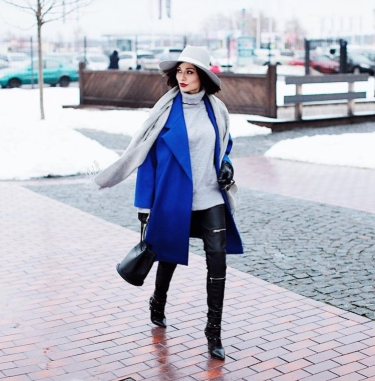 идеи за шал с палто