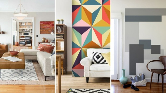геометрични мотиви в дома