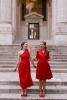 Лейди в червено - 25 убийствено секси червени рокли, с които ще привличаш погледа като с магнит (Снимки):