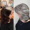 прикриване на бяла коса
