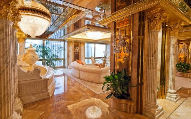 луксозният дом на Мелания