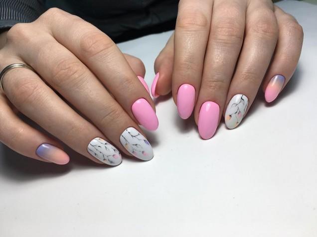 овални нокти