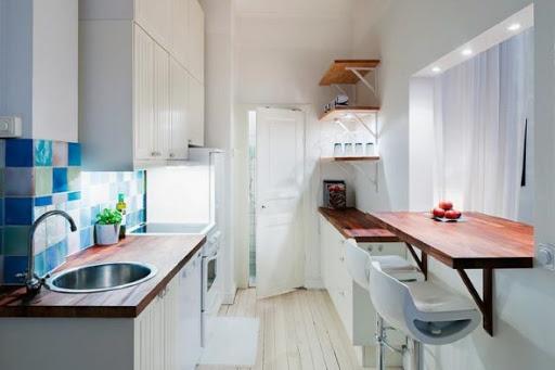 идеи тясна кухня