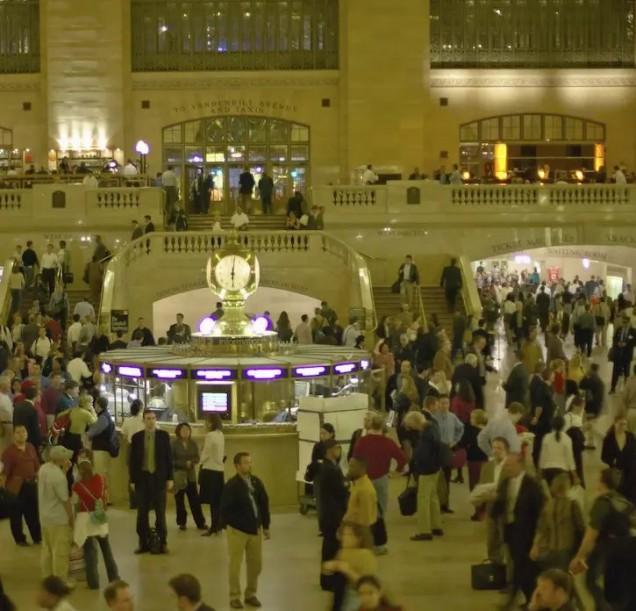 централна гара Ню Йорк преди коронавируса