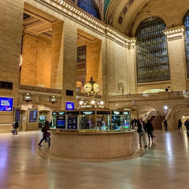 централна гара Ню Йорк след коронавируса