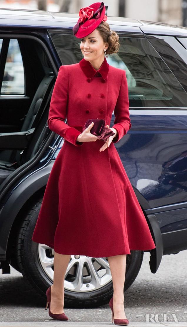 Кейт Мидълтън рокля фрак