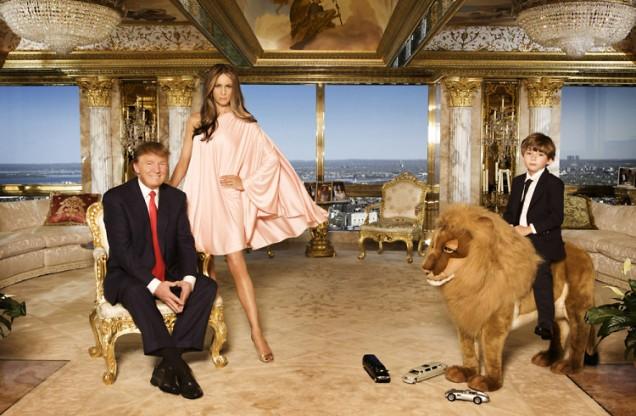 апартаментът на сем.Тръмп